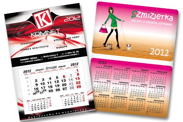 kalendarze komnet
